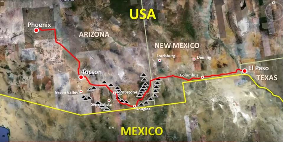 Phoenix AZ to El Paso TX – Trip Video Summary