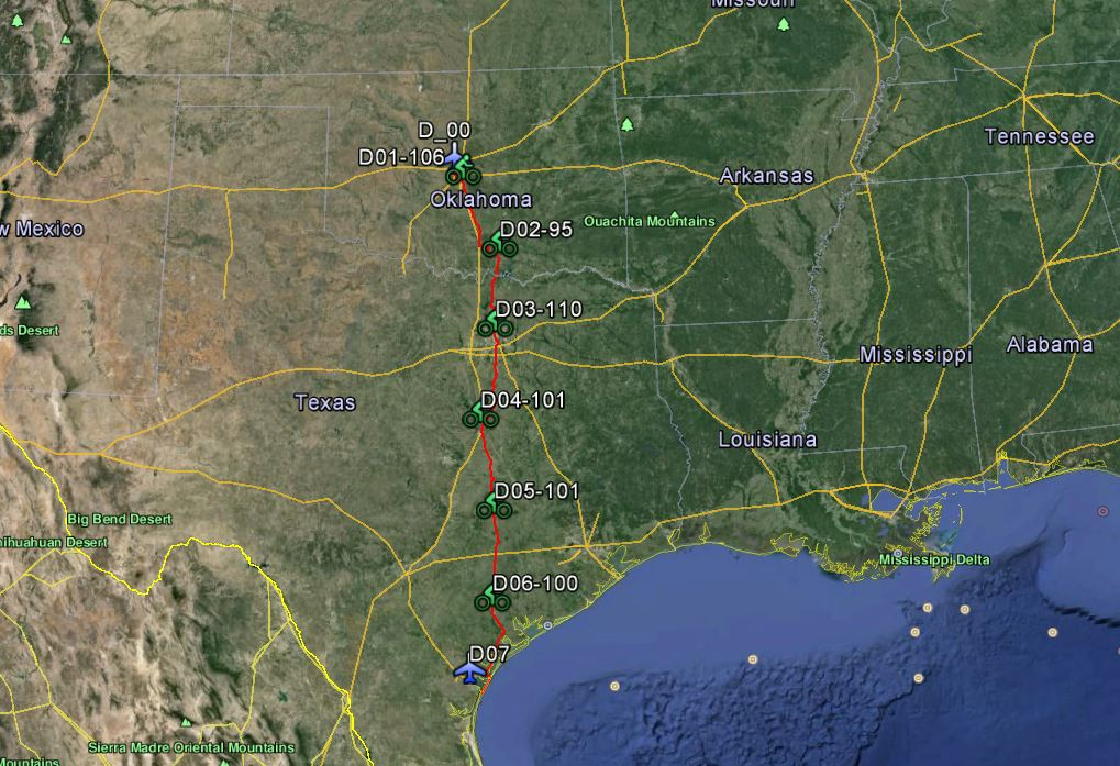 Getting Ready for Oklahoma City to Corpus Christi – 600 miles in six days